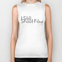 I Still Shoot Film! Biker Tank