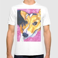 Lola Mens Fitted Tee White SMALL