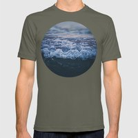 Waves Mens Fitted Tee Lieutenant SMALL