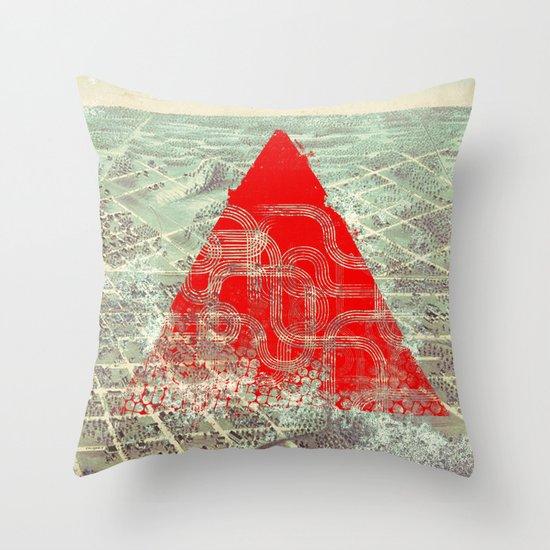 Rusty Future Throw Pillow