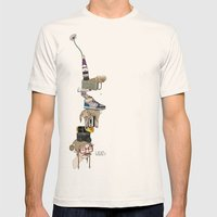 What? Mens Fitted Tee Natural SMALL