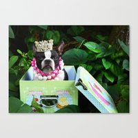 Princess CupCake Canvas Print