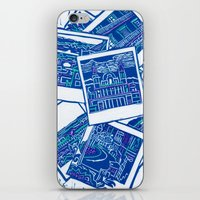 Blue Print  iPhone & iPod Skin