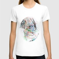 anime T-shirts featuring Anime 3  by Del Vecchio Art by Aureo Del Vecchio