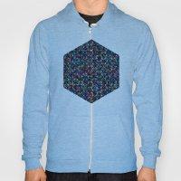 Stardust Geometric Art Print. Hoody