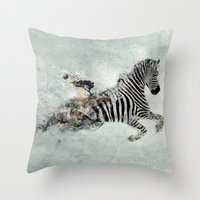 Save Our World Throw Pillow