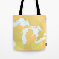 The GREAT LAKES of NORTH AMERICA Tote Bag