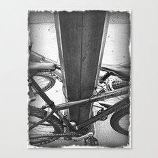 Lock Down Canvas Print