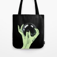 Tote Bag featuring Crystallomancy by Lagoonartastic