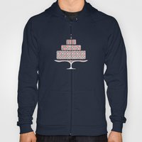 Patterned Cake Hoody