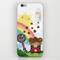 Roasted Chestnuts Can Sa… iPhone & iPod Skin