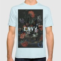 Envy Mens Fitted Tee Light Blue SMALL