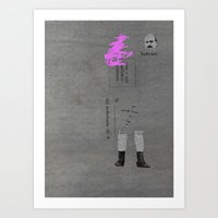 Indicare Art Print