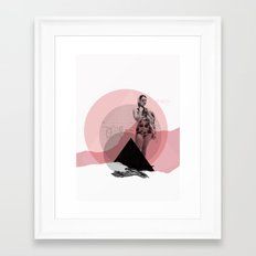 Waiting For ... Framed Art Print