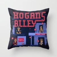 Hogan's Alley Throw Pillow