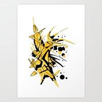 Kuma Art Print