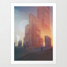 YT.SUN-CITY08 (everyday 11.07.15) Art Print