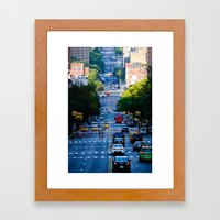 Uptown No. 4 Framed Art Print
