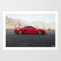 Acura NSX Art Print