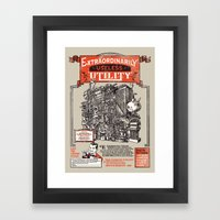 Extraordinarily Useless … Framed Art Print