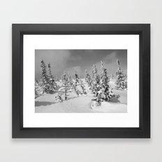 Winter Day 26 Framed Art Print