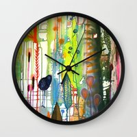 La Traverse Wall Clock
