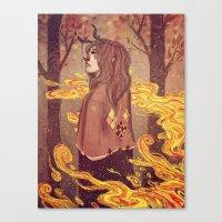 Wherein I Breathe Soot Canvas Print