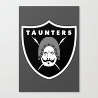 Taunters Canvas Print