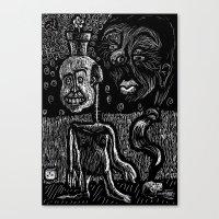 Sampson's dream Canvas Print
