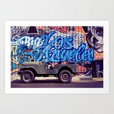 Big Los Angeles Art Print