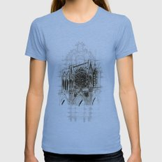 Cathedral Womens Fitted Tee Athletic Blue SMALL