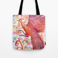Phoenix Dawning Tote Bag