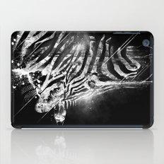 Zebra Mood - White iPad Case