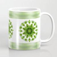 Maidenhair Fern Mandala Mug