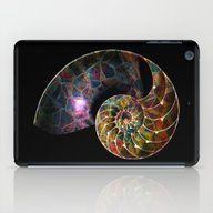 Fossilized Nautilus Shel… iPad Case