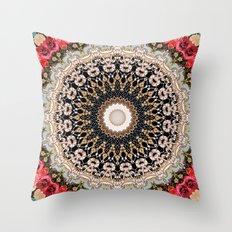 Mandala Hahusheze  Throw Pillow