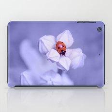 blue dream ~ sleeping ladybug iPad Case