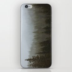 Snowy Forks Forest iPhone & iPod Skin