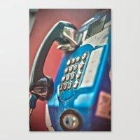 One Call Canvas Print