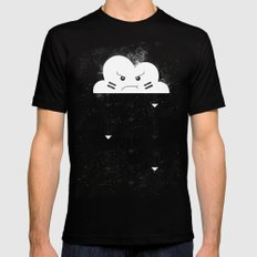 Nuage indien Black Mens Fitted Tee SMALL