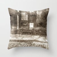 Pub Resting Place Art Vi… Throw Pillow