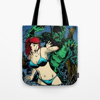 LAKE MONSTER Tote Bag