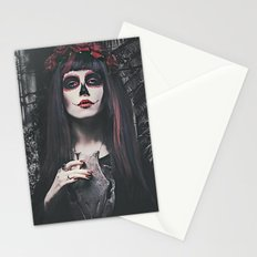 Catrina Day of the Dead Stationery Cards