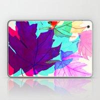 Maple Leaves Falling Laptop & iPad Skin