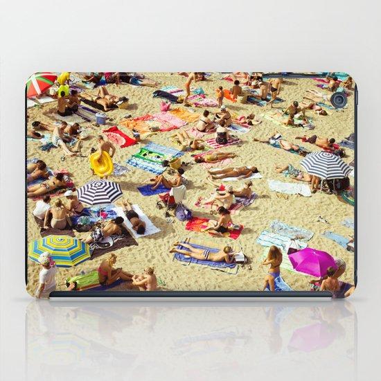 Beach pattern iPad Case