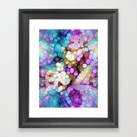 Happy Colors Framed Art Print