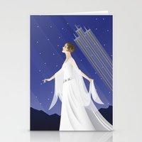 Deco Leia (12x18) Stationery Cards
