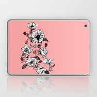 Pink poppies Laptop & iPad Skin