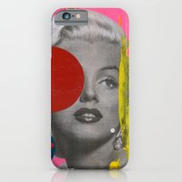 iPhone & iPod Case featuring Marilyn by FAMOUS WHEN DEAD