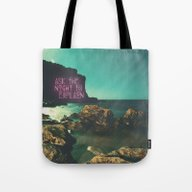 Ask The Night To Explain Tote Bag